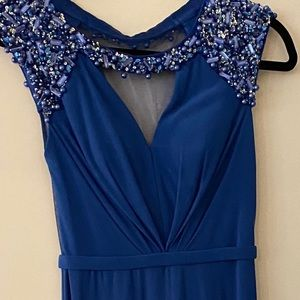BCBG Royal blue gown